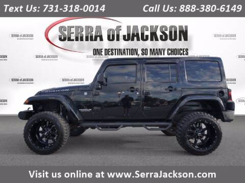 2014 Jeep Wrangler Unlimited for sale at Serra Of Jackson in Jackson TN