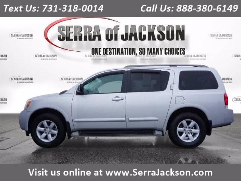 2010 Nissan Armada for sale at Serra Of Jackson in Jackson TN