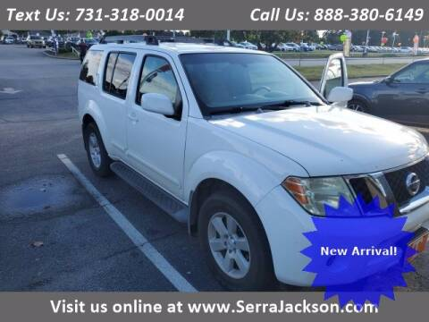 2008 Nissan Pathfinder for sale at Serra Of Jackson in Jackson TN