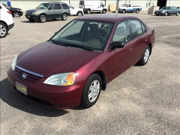 2003 Honda Civic for sale at Valley Auto Locators in Gering NE