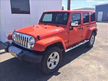 2015 Jeep Wrangler Unlimited for sale at Valley Auto Locators in Gering NE