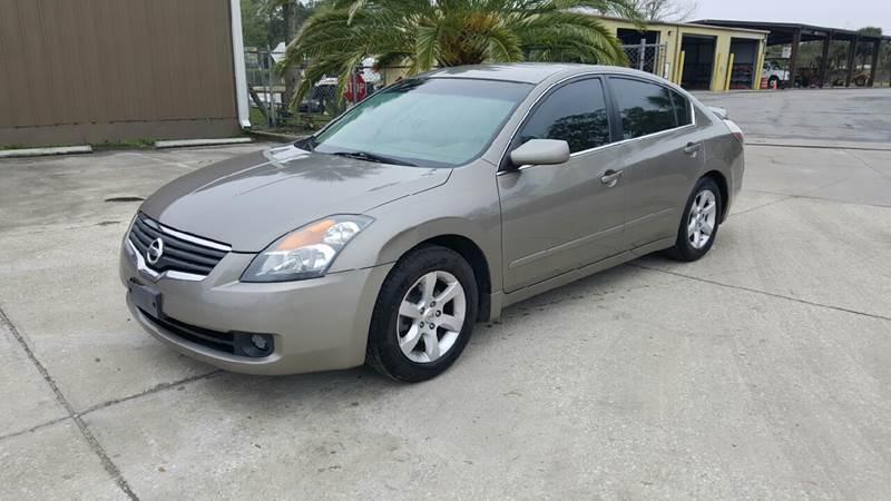 2007 Nissan Altima 2.5S >> 2007 Nissan Altima 2 5 S 4dr Sedan 2 5l I4 Cvt In St Augustine Fl