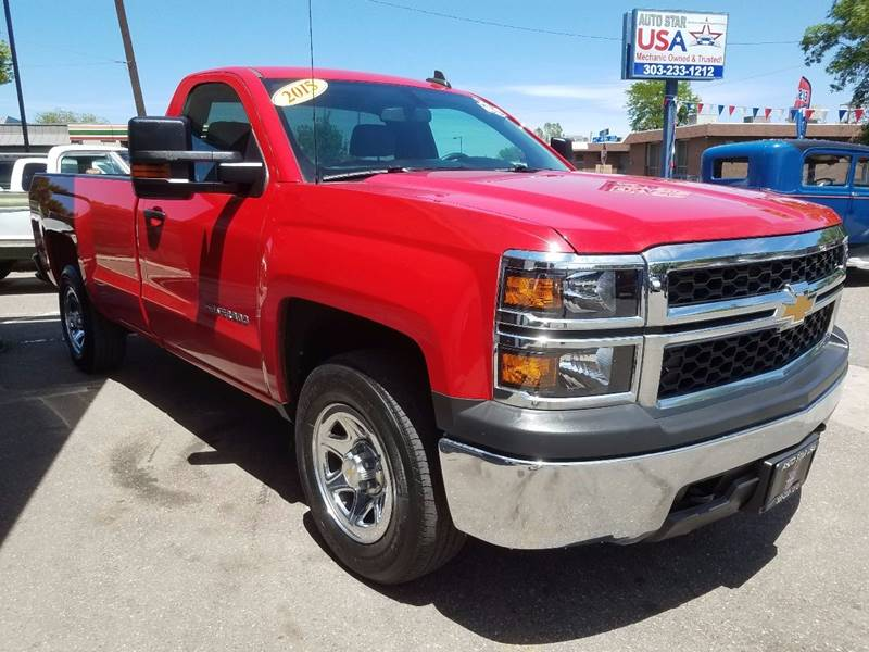 2015 Chevrolet Silverado 1500 for sale at Auto Star USA in Lakewood CO