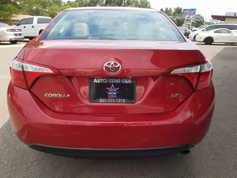 2016 Toyota Corolla for sale at Auto Star USA in Lakewood CO