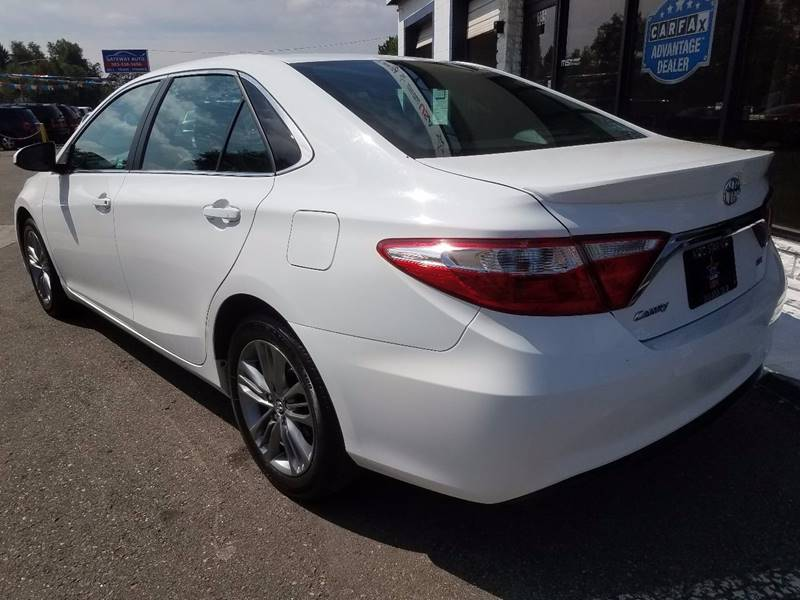2016 Toyota Camry for sale at Auto Star USA in Lakewood CO
