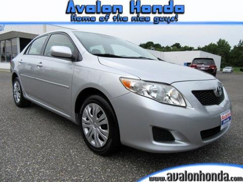 2009 Toyota Corolla for sale in Swainton, NJ