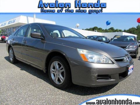 2006 Honda Accord for sale in Swainton, NJ