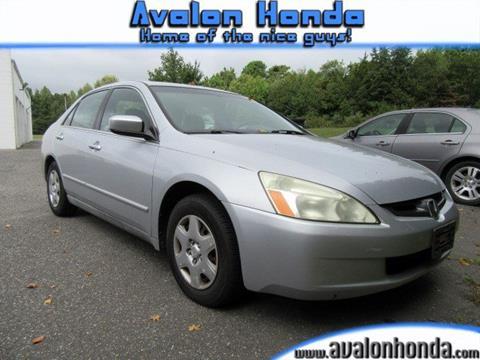 2005 Honda Accord for sale in Swainton NJ