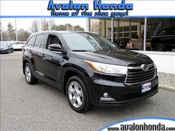 2014 Toyota Highlander for sale in Swainton, NJ