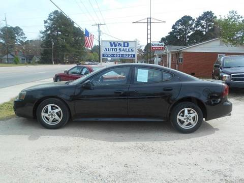2004 Pontiac Grand Prix for sale at W & D Auto Sales in Fayetteville NC