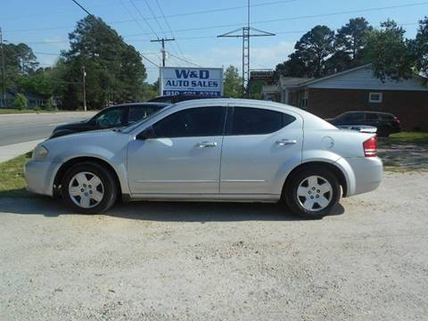 2008 Dodge Avenger for sale at W & D Auto Sales in Fayetteville NC