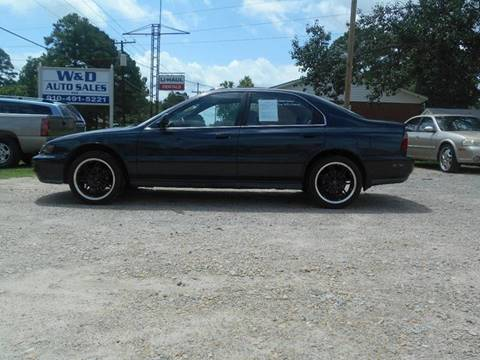 1997 Honda Accord for sale at W & D Auto Sales in Fayetteville NC