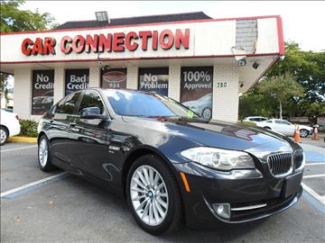 2012 BMW 5 Series for sale in Plantation, FL