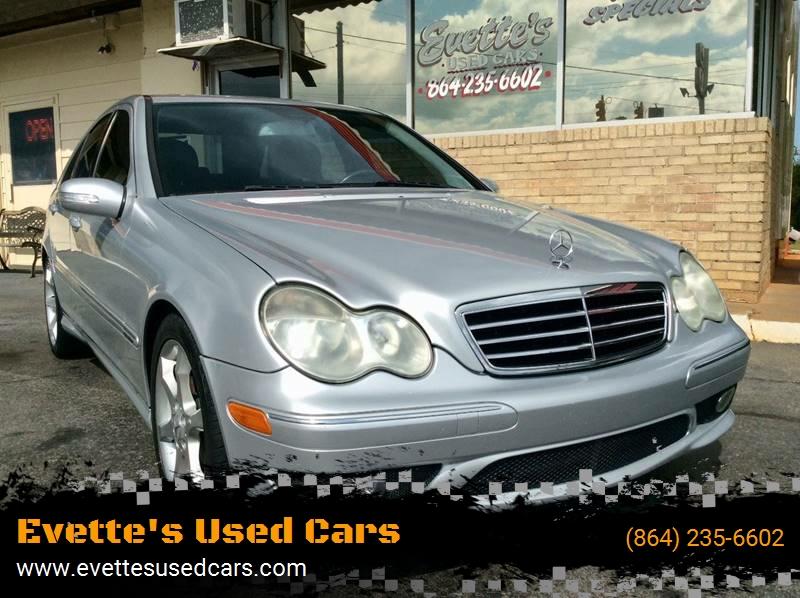 2007 Mercedes Benz C Class C 230 Sport 4dr Sedan   Greenville SC
