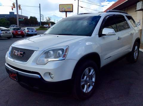 2008 GMC Acadia for sale in Greenville, SC