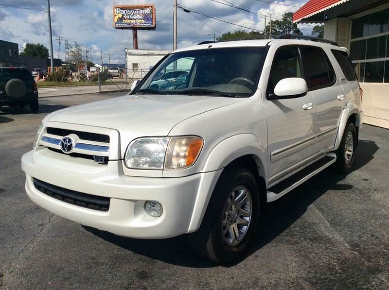 2005 Toyota Sequoia Limited 4dr SUV   Greenville SC