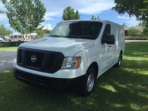 2013 Nissan NV Cargo for sale at Top Trucks Motors in Pompano Beach FL