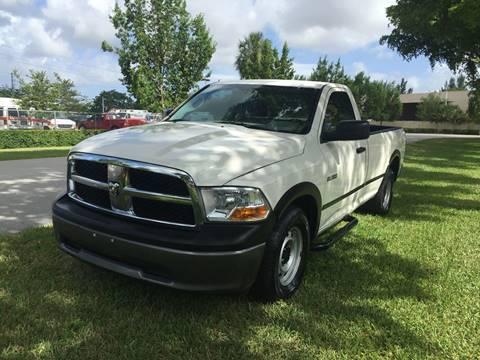 2009 Dodge Ram Pickup 1500 for sale at Top Trucks Motors in Pompano Beach FL