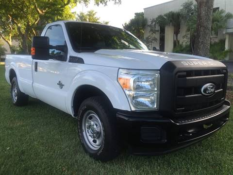 2011 Ford F-250 Super Duty for sale at Top Trucks Motors in Pompano Beach FL