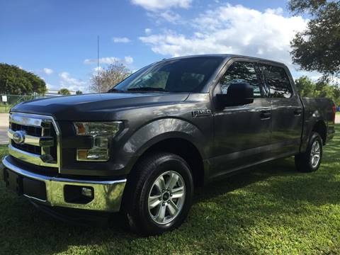 2016 Ford F-150 for sale at Top Trucks Motors in Pompano Beach FL