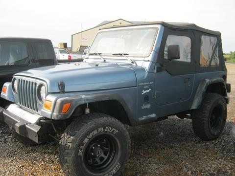 1998 Jeep Wrangler for sale in Mc Louth, KS