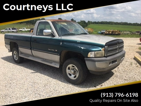 1995 Dodge Ram Pickup 1500 Laramie SLT for sale at Courtneys LLC in Mc Louth KS