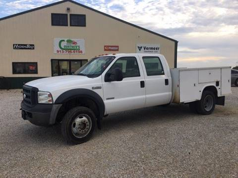 2007 Ford F-450 Super Duty for sale at Courtneys LLC in Mc Louth KS