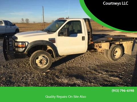 2008 Ford F-550 for sale in Mc Louth, KS