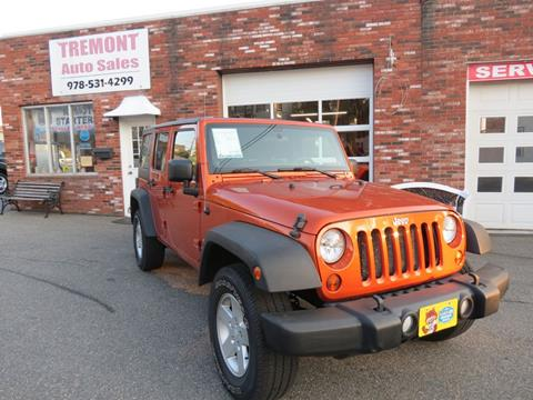 2011 Jeep Wrangler Unlimited for sale in Peabody, MA