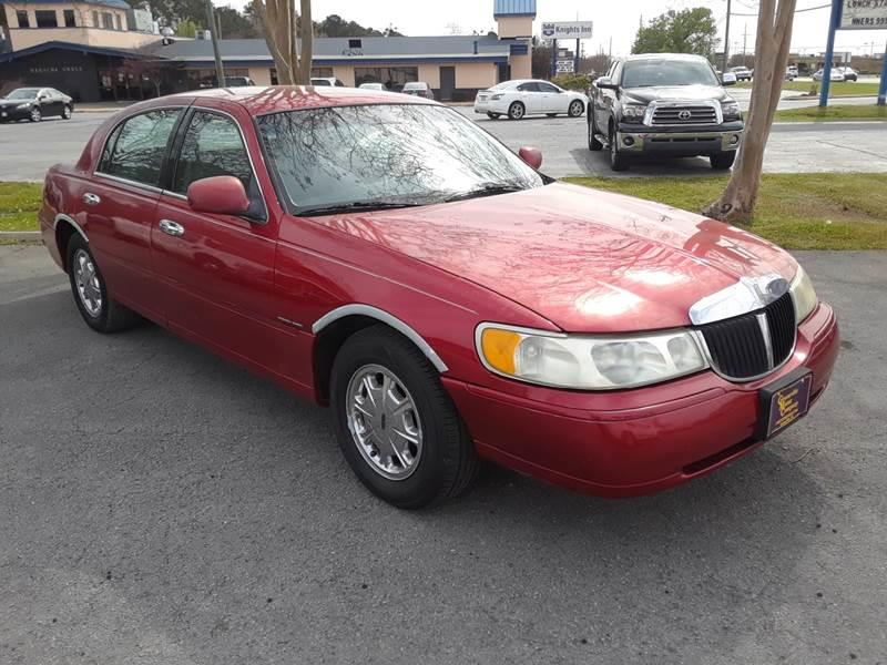 1998 Lincoln Town Car Signature 4dr Sedan In Kinston Nc Kinston