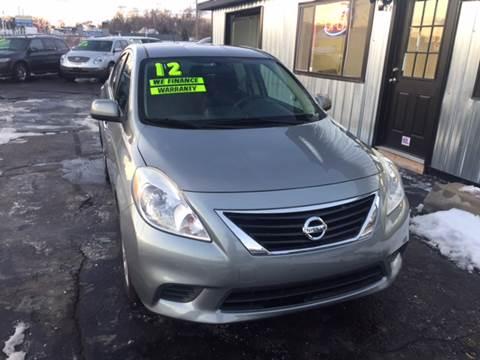 2012 Nissan Versa for sale in Pontiac, MI