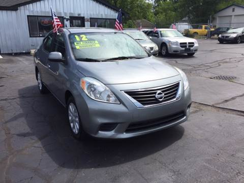 2012 Nissan Versa for sale in Pontiac, MI