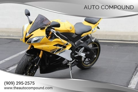 2006 Yamaha YZF-R6 for sale in Corona, CA