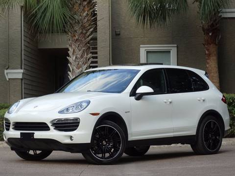2011 Porsche Cayenne for sale at Westside Hummer Inc. in Houston TX