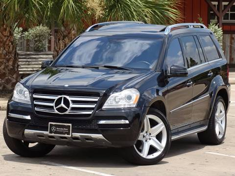 2012 Mercedes-Benz GL-Class for sale at Westside Hummer Inc. in Houston TX