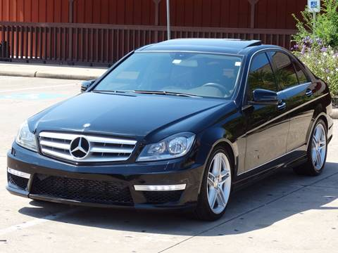 2012 Mercedes-Benz C-Class for sale at Westside Hummer Inc. in Houston TX