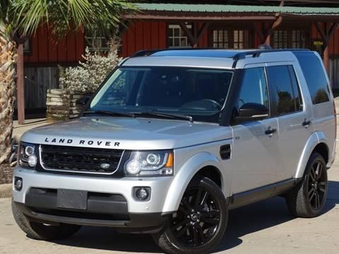 2014 Land Rover LR4 for sale at Westside Hummer Inc. in Houston TX