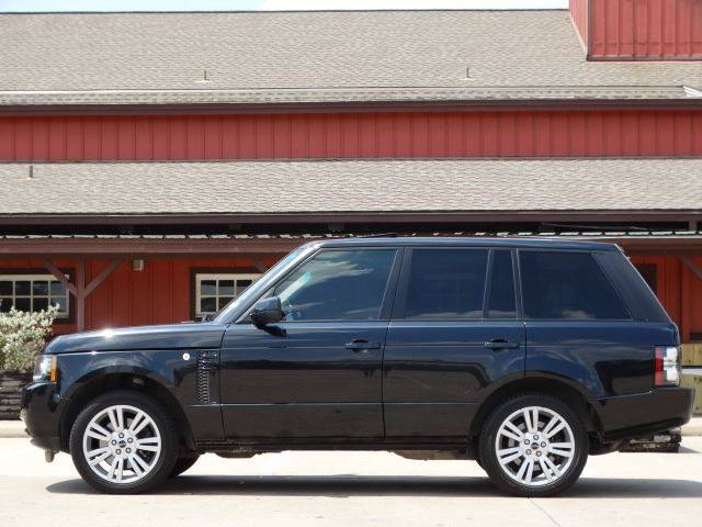 2012 Land Rover Range Rover for sale at Westside Hummer Inc. in Houston TX