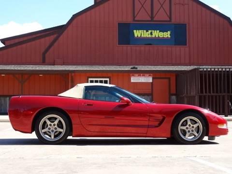 1999 Chevrolet Corvette for sale at Westside Hummer Inc. in Houston TX