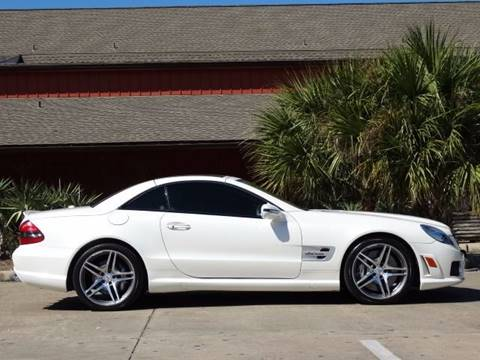 2009 Mercedes-Benz SL-Class for sale at Westside Hummer Inc. in Houston TX