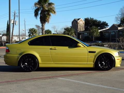 2005 BMW M3 for sale at Westside Hummer Inc. in Houston TX