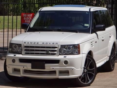 2008 Land Rover Range Rover Sport for sale at Westside Hummer Inc. in Houston TX