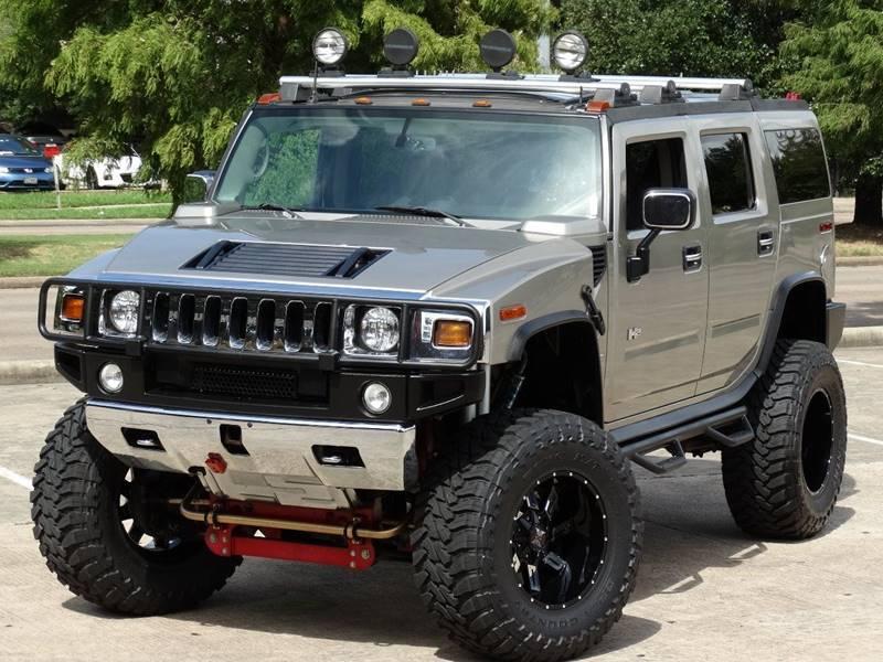 2003 Hummer H2 4dr Adventure Series 4WD SUV In Houston TX - Westside