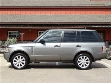 2008 Land Rover Range Rover for sale at Westside Hummer Inc. in Houston TX