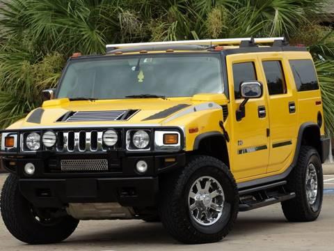 2003 HUMMER H2 for sale at Westside Hummer Inc. in Houston TX