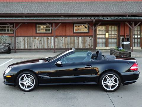 2007 Mercedes-Benz SL-Class for sale at Westside Hummer Inc. in Houston TX