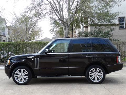 2010 Land Rover Range Rover for sale at Westside Hummer Inc. in Houston TX
