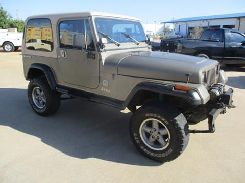 1989 Jeep Wrangler for sale in Durant, OK