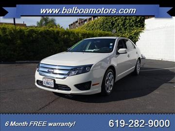 2010 Ford Fusion for sale in San Diego, CA