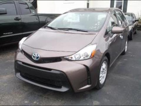 2017 Toyota Prius v for sale in Logan, OH